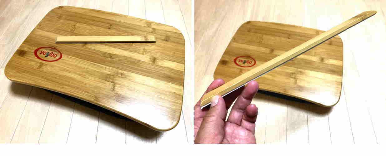 yogiboの固定用バー